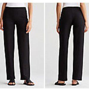 NWT $168 Eileen Fisher wide yoke waist pant. Med